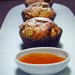 Muffiny pomarańczowo - makowe