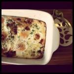 zapiekane jajka