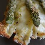 Lasagne z zielonymi szparagami