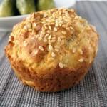 Muffiny wytrawne z serem i ziarnami