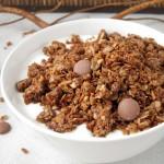 Granola kokosowo - czekoladowa
