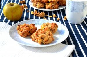 Ciasteczka z jabłkami i musli