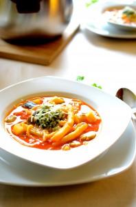 Francuska zupa jarzynowa pistou