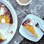 odwracane ciasto z ananasem