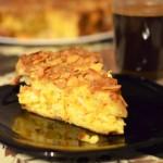 Ciasto pomarańczowo - migdałowe