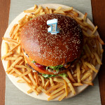 Tort hamburgerowy