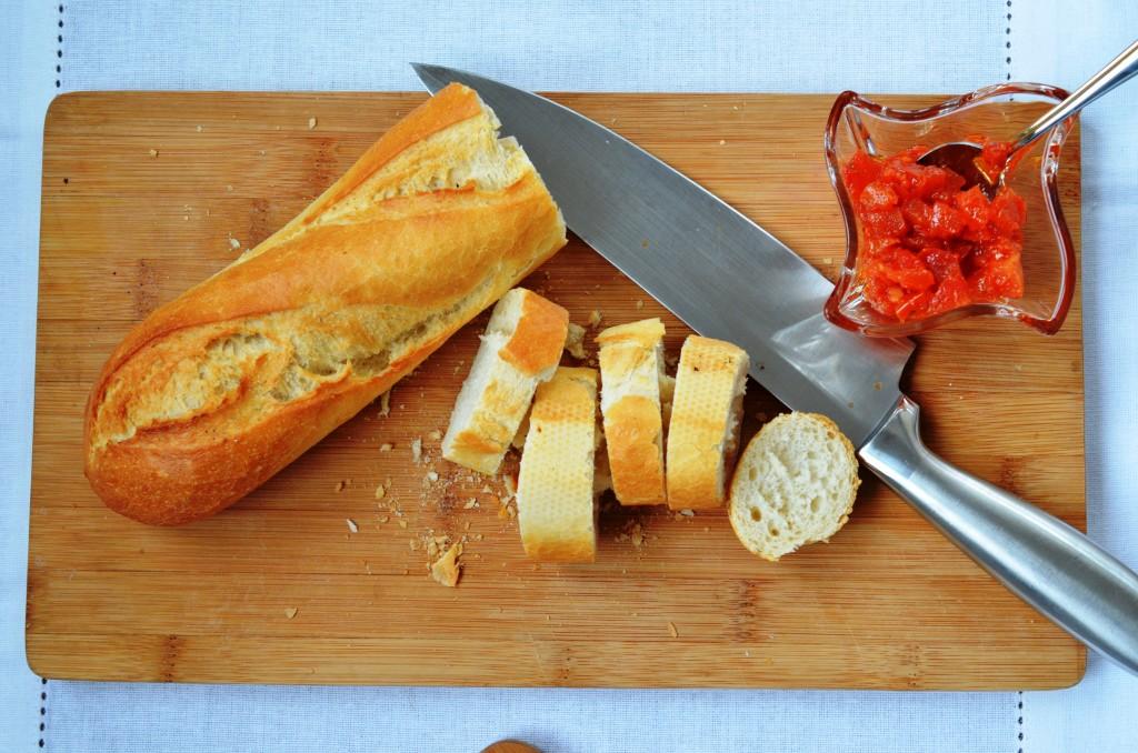 zapiekane pomidorowe jajka