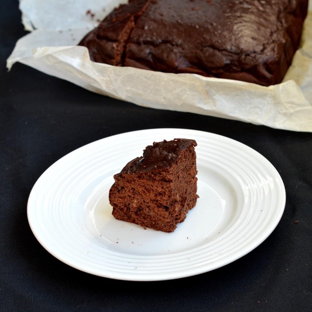 czekoladowe ciasto proteinowe 2