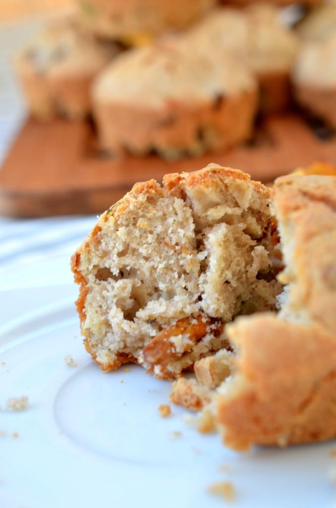Muffiny gryczane z kurkami