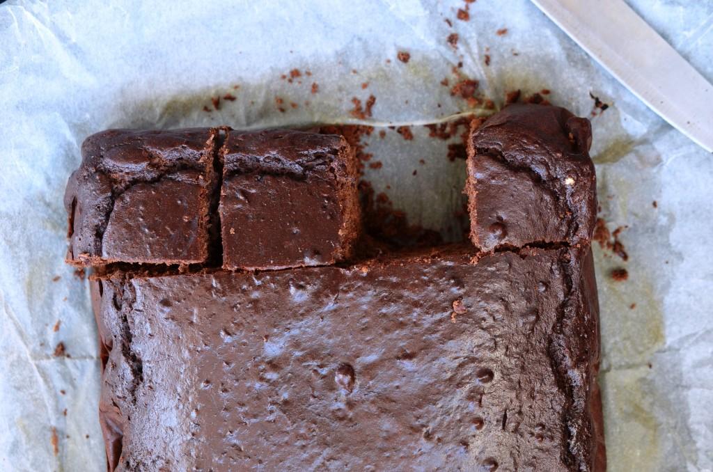 czekoladowe ciasto na fasoli